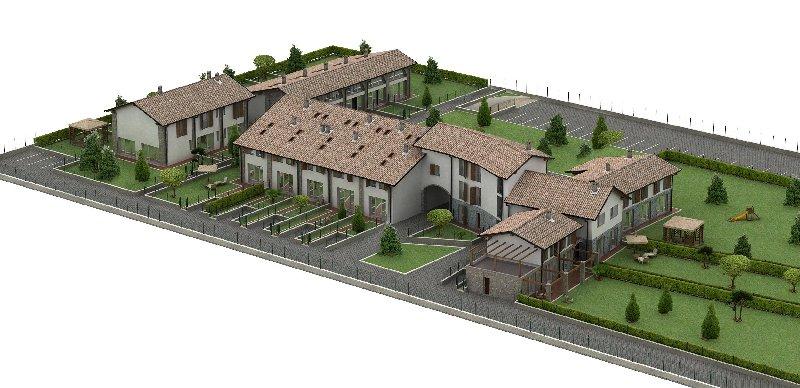 Appartamento in vendita a San Giorgio Piacentino, 4 locali, prezzo € 122.000 | Cambio Casa.it