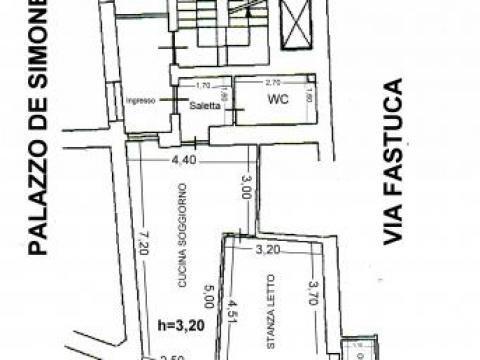 Palazzina vendita PALERMO (PA) - 2 LOCALI - 50 MQ