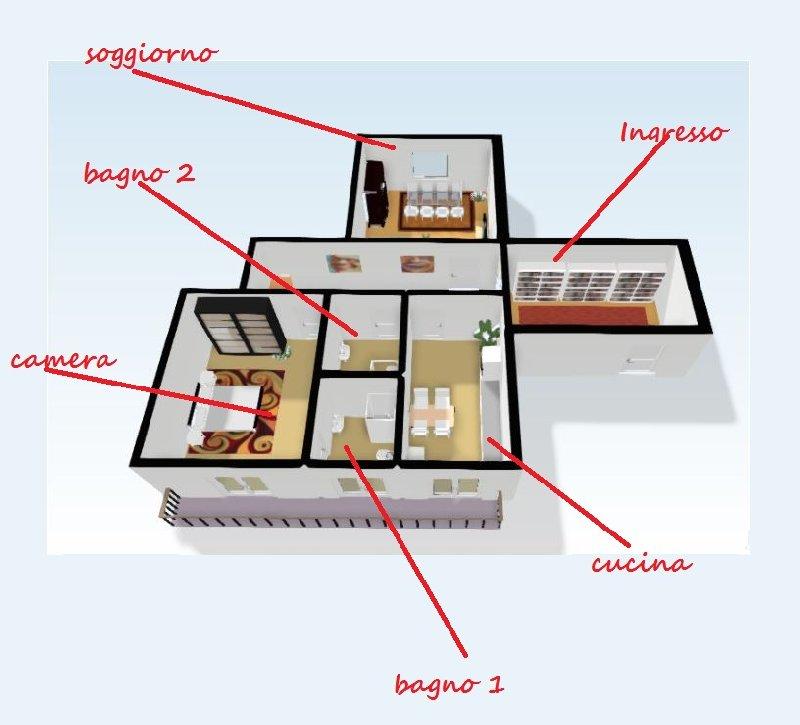 Appartamento in affitto a Biella, 3 locali, zona Zona: Centro, prezzo € 450 | CambioCasa.it
