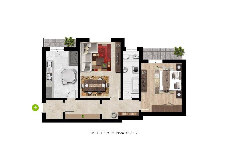 Appartamento, via dell europa, Vendita - Sasso Marconi
