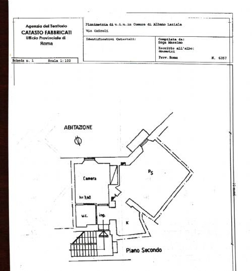 Bilocale Albano Laziale Via Cairoli 1 12