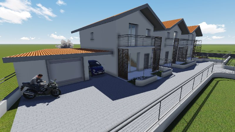 Villa Tri-Quadrifamiliare in Vendita a Albizzate