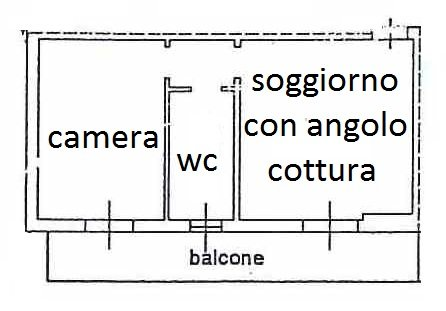 Bilocale Magnago Via Cristoforo Colombo 10