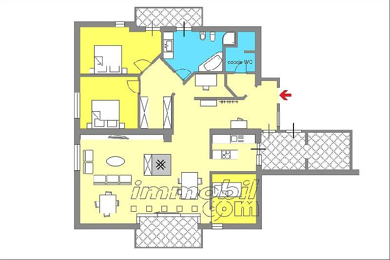 Appartamento in vendita a Riscone, Brunico (BZ)
