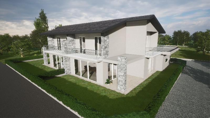 Villa Bifamiliare in vendita a Carnago, 6 locali, zona Zona: Rovate, prezzo € 340.000 | CambioCasa.it